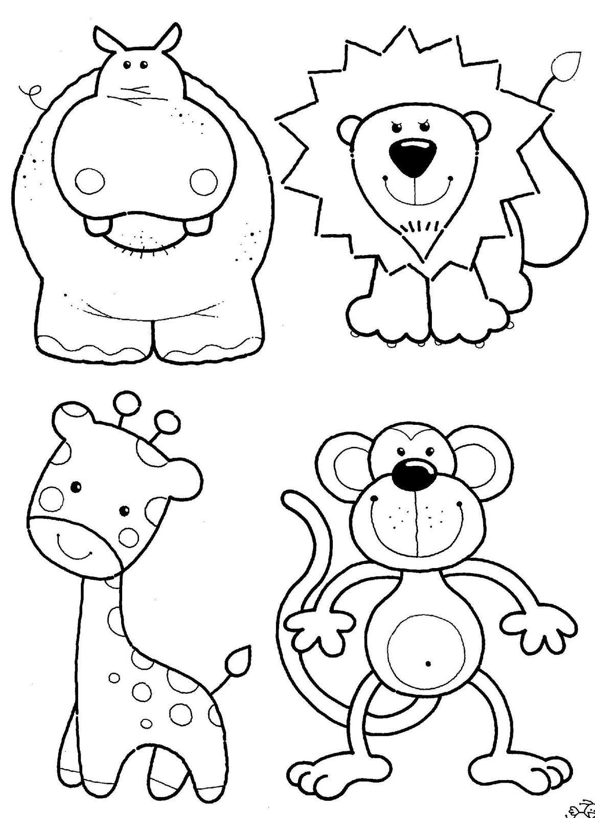 Prazer Em Educar  Desenhos E Moldes