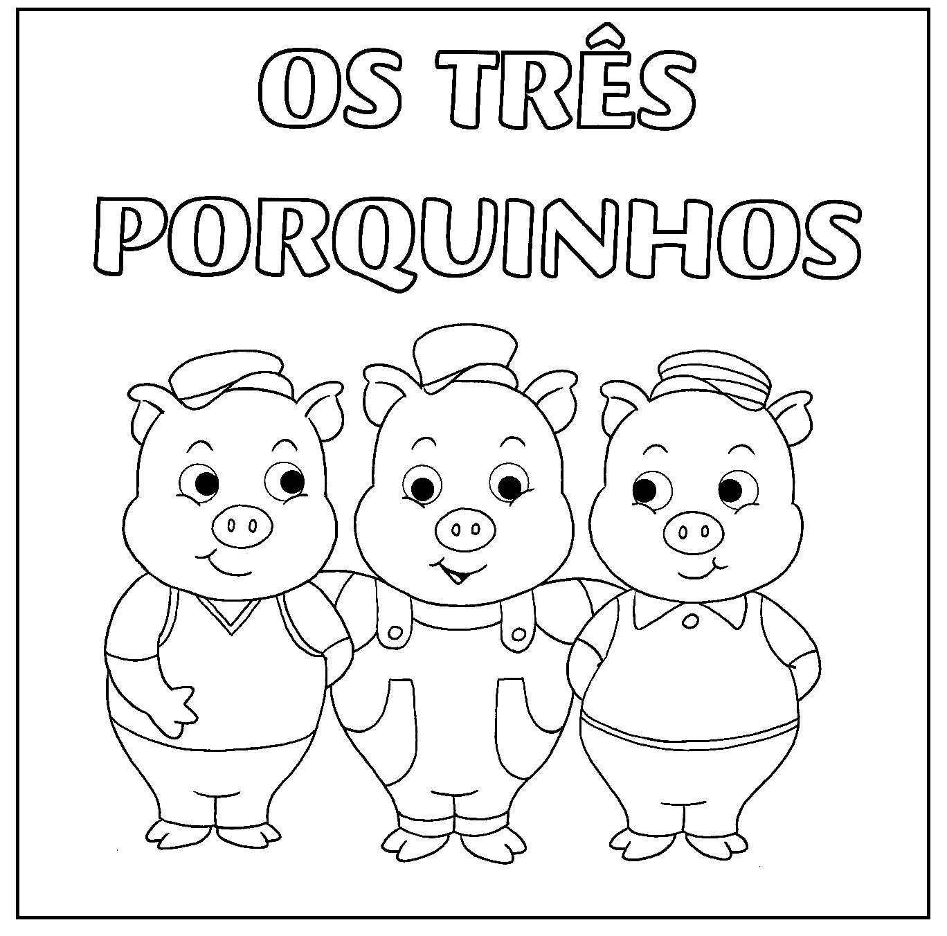 Projeto Os Três Porquinhos