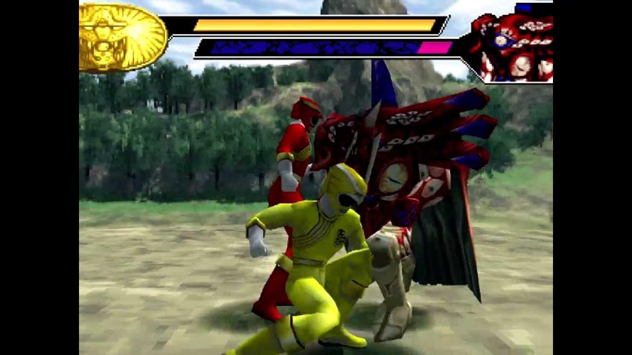 Psx) Power Ranger Força Animal Parte 3