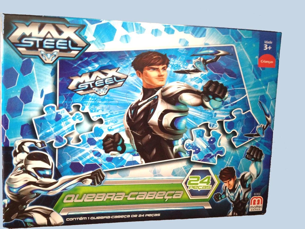 Puzzle Max Steel Action Figure Quebra