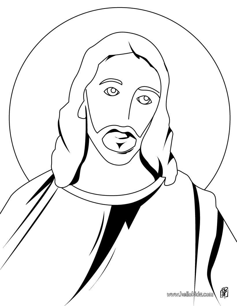 Religious Easter Coloring Pages