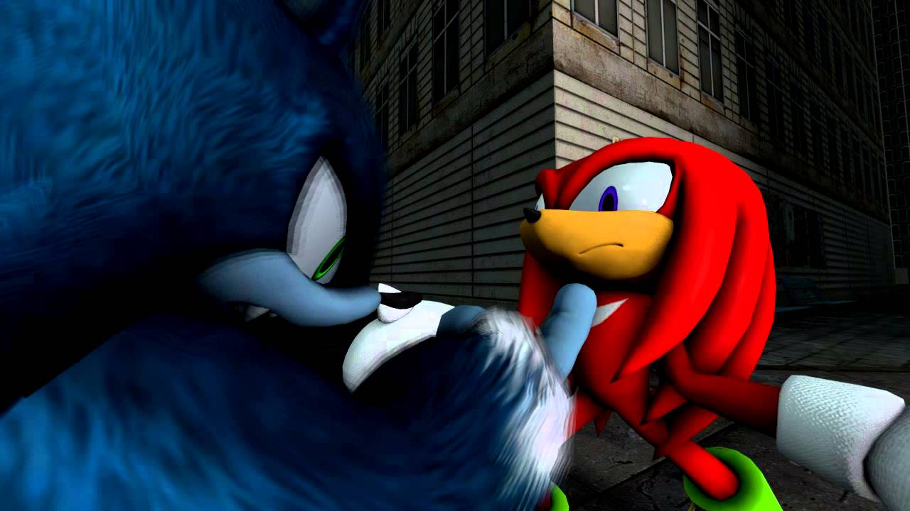 Sfm] Sonic The Werehog Scolds Knuckles