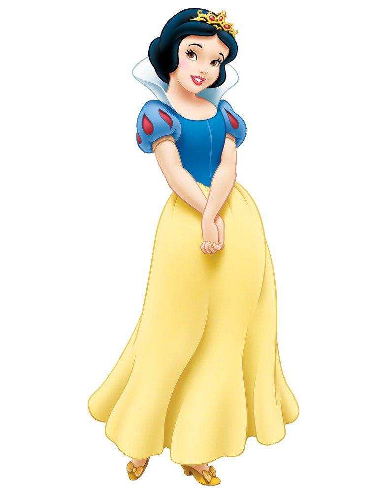 Snow White Face Clipart