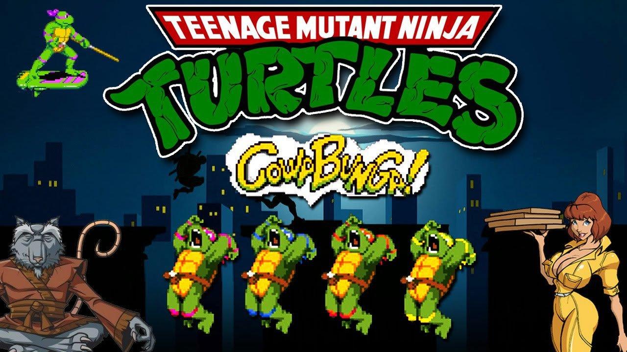 Tartarugas Ninjas  O Desenho E O Jogo Clássico! [canal 90]