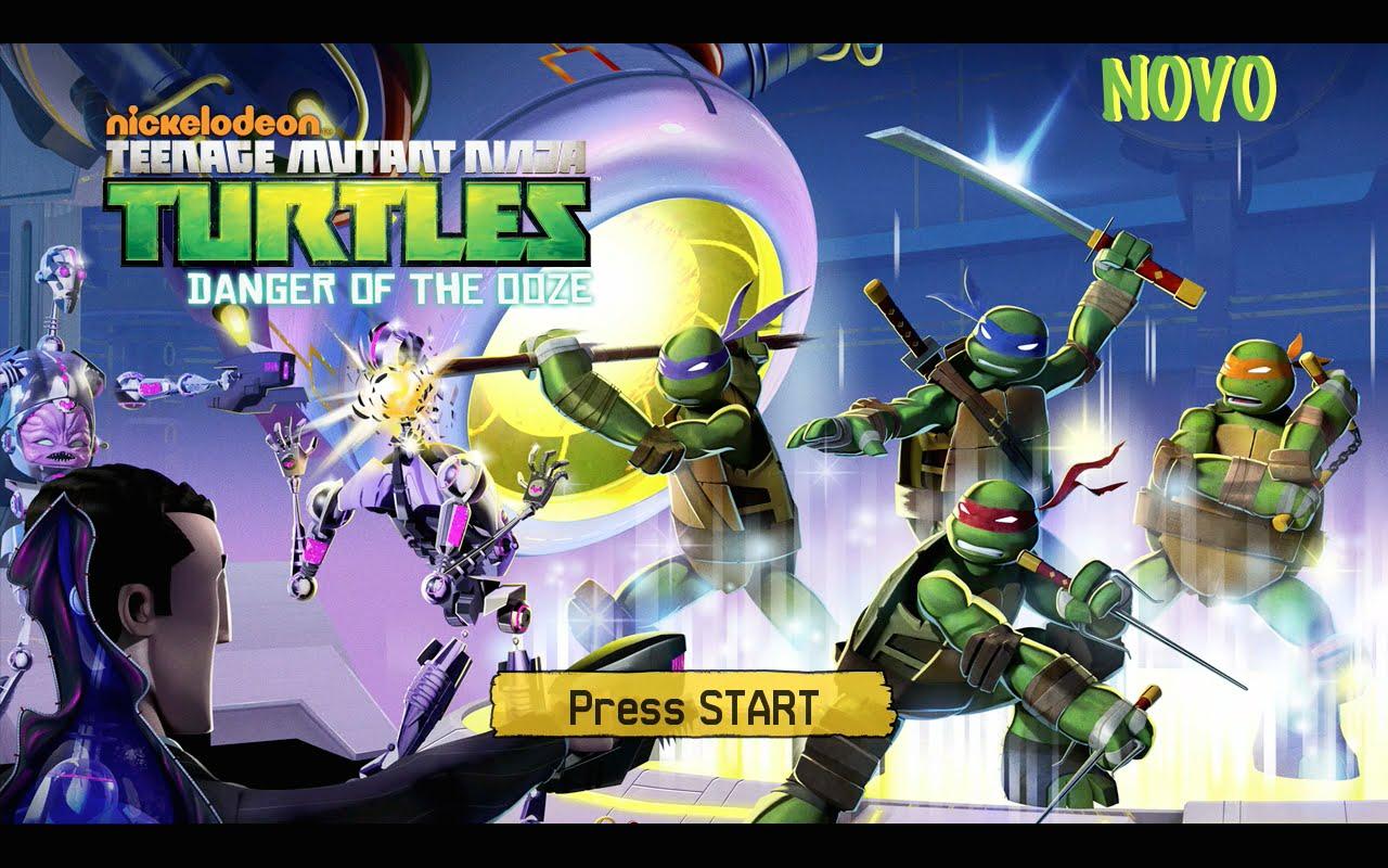 Tartarugas Ninjas Nickelodeon, Danger Of The Ooze  01 Primeiros