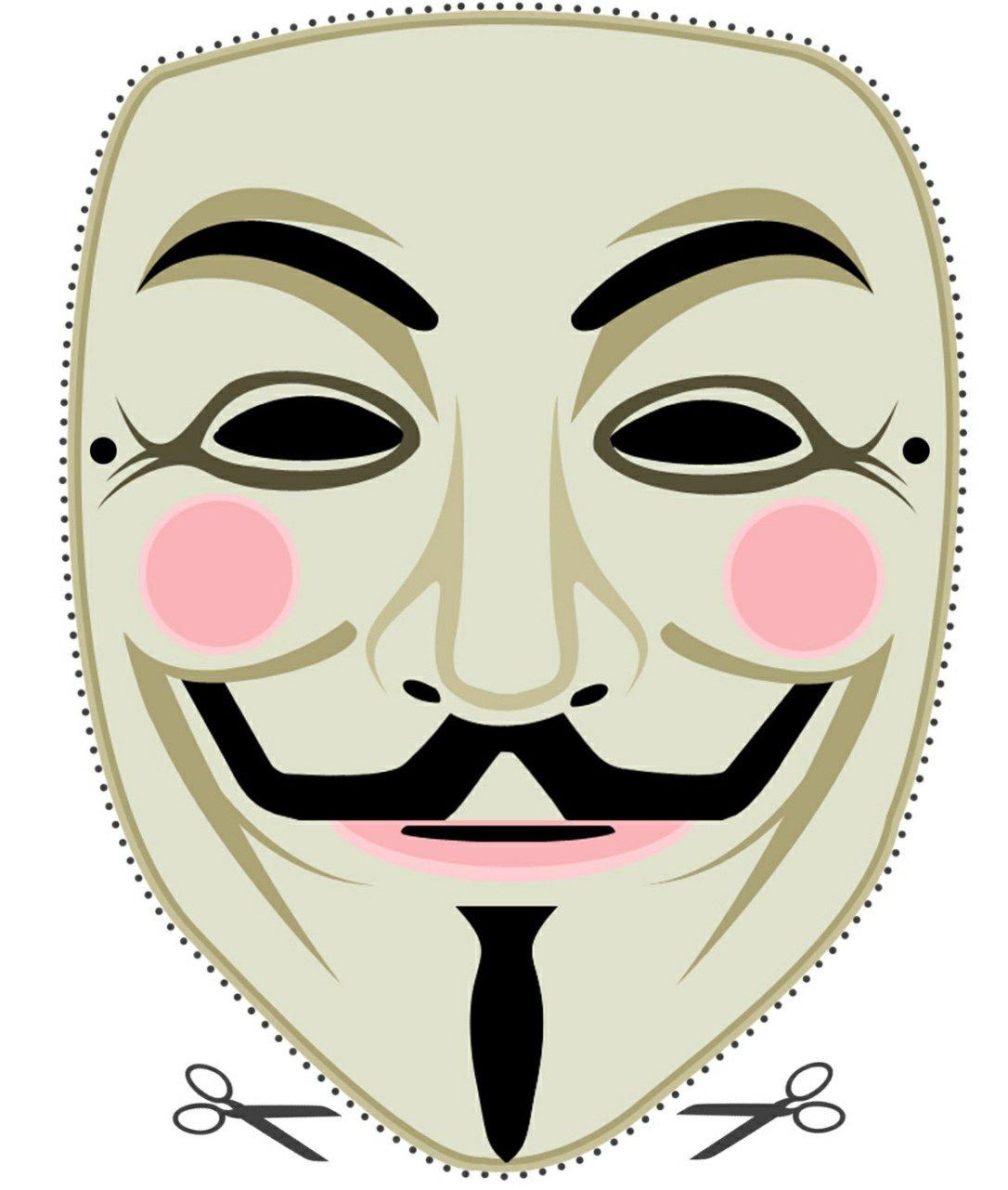 Tenha GrÁtis Sua Máscara Do Anonymous!