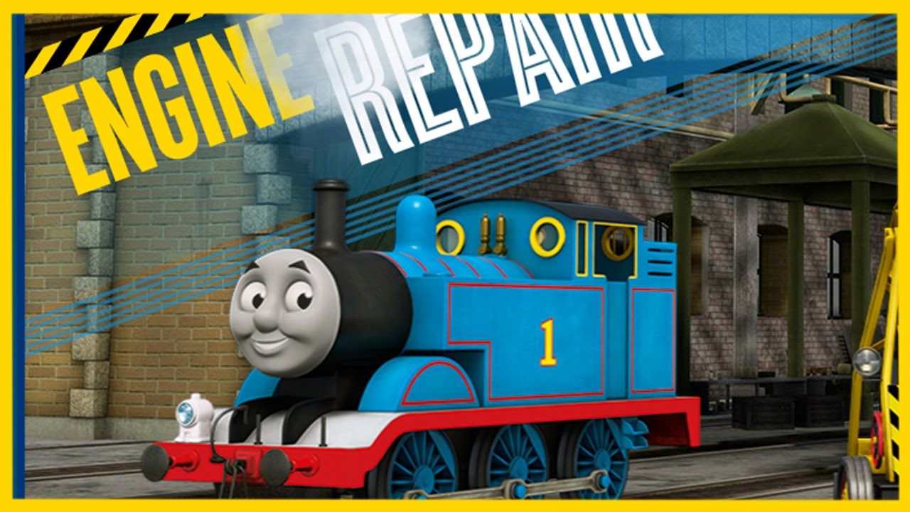 Thomas And Friends Engine Repair Game