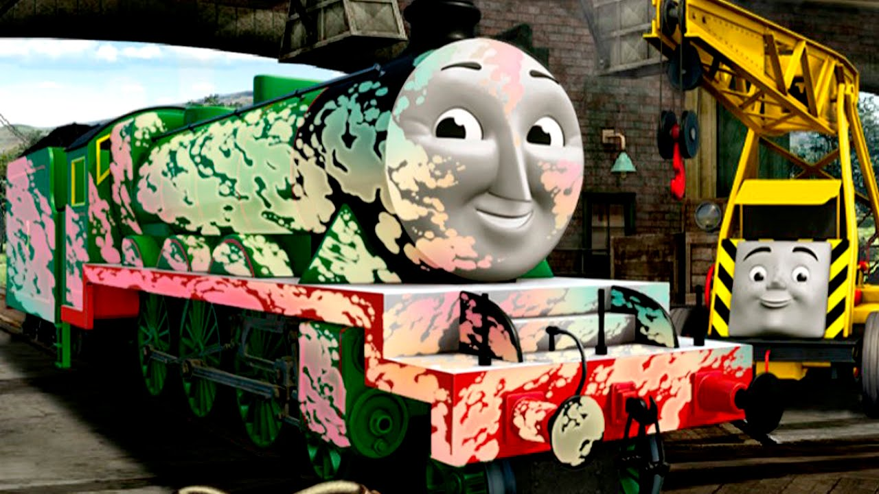 Thomas And Friends English Game For Children  Engine Repair