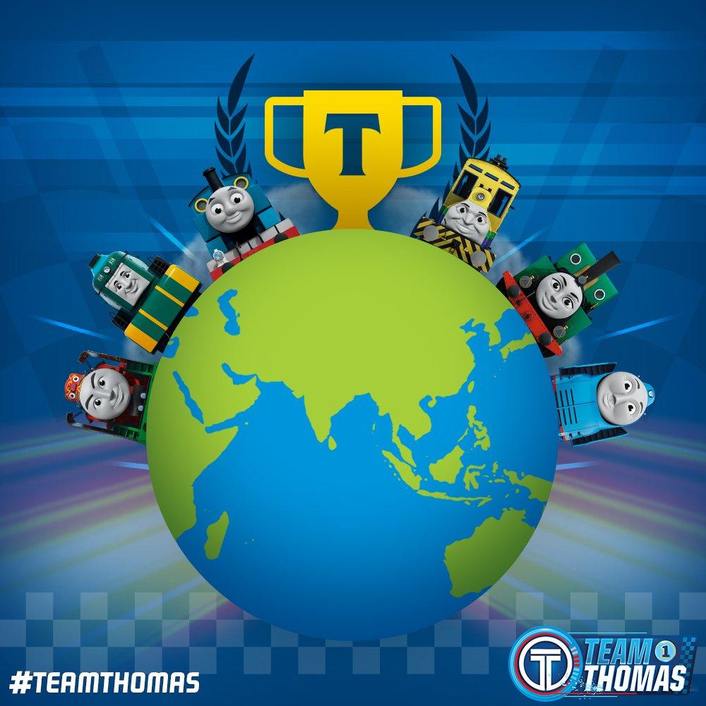 Thomas E Seus Amigos – A Grande Corrida Global!