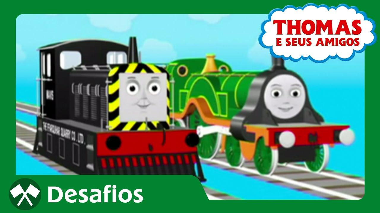 Thomas E Seus Amigos  Ficando Parecida Com A Emily