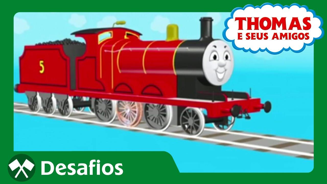 Thomas E Seus Amigos  Novas Peças Para James