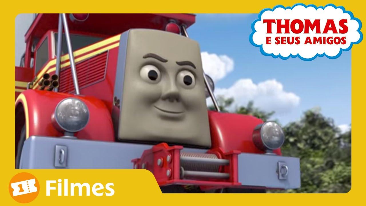 Thomas E Seus Amigos  O Dia Dos Trens A Diesel (trailer)