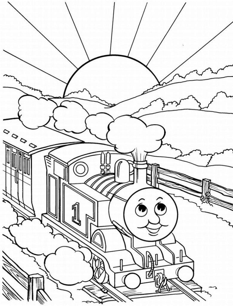 Thomas E Seus Amigos Para Colorir E Imprimir