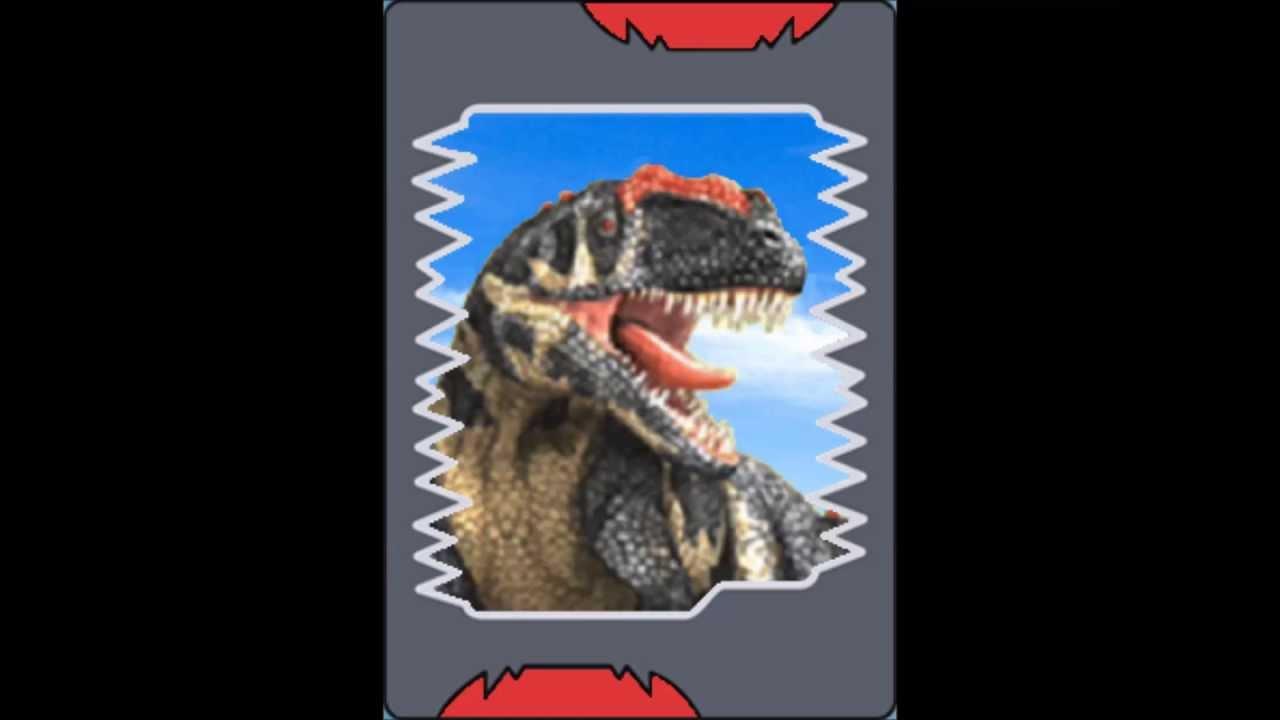 Todos Os Cartões De Dinossauros Do Dinosaur King