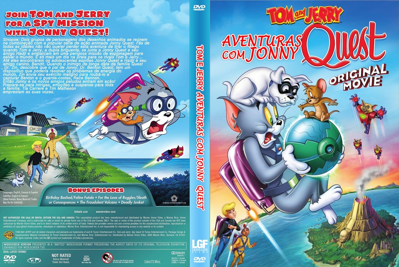 Tom E Jerry Aventuras Com Jonny Quest