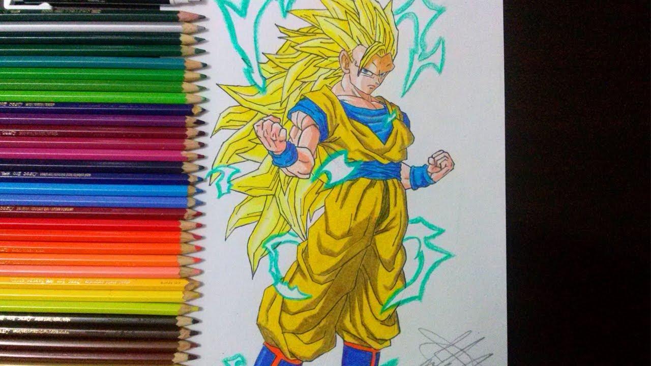 Top Tutoriais  Como Desenhar O Goku Super Saiyajin 3 (how To Draw