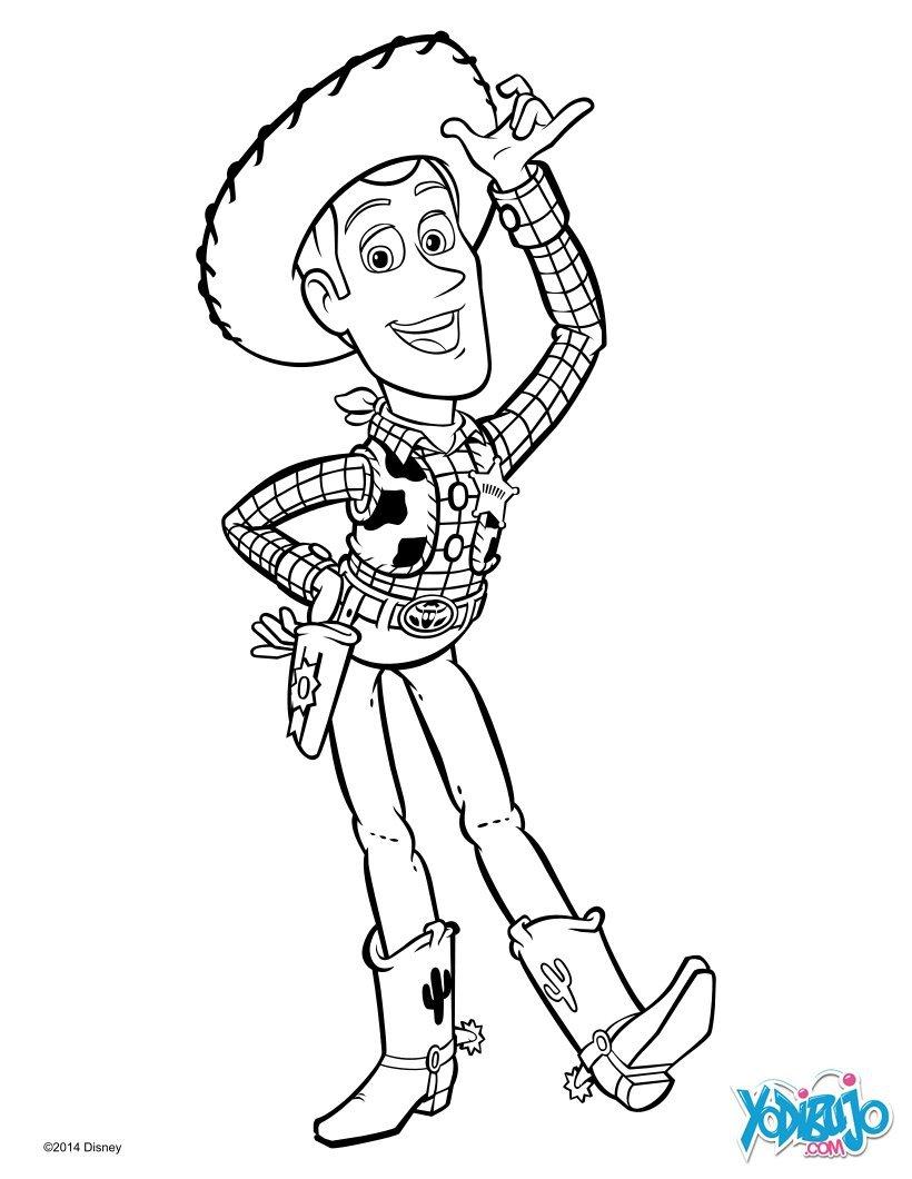 Toy Story Para Pintar
