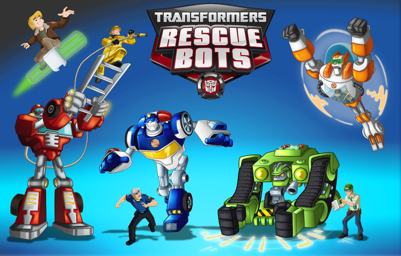 Transformers  Rescue Bots ~ Transformers Dioramas