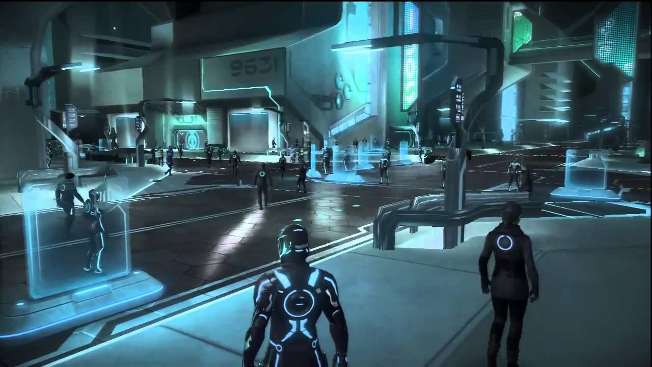 Tron  Evolution Walkthrough  Chapter 1