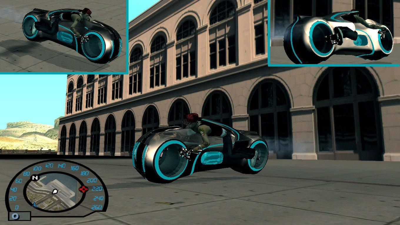 Tron Legacy Bike (versão 3 + Anim)