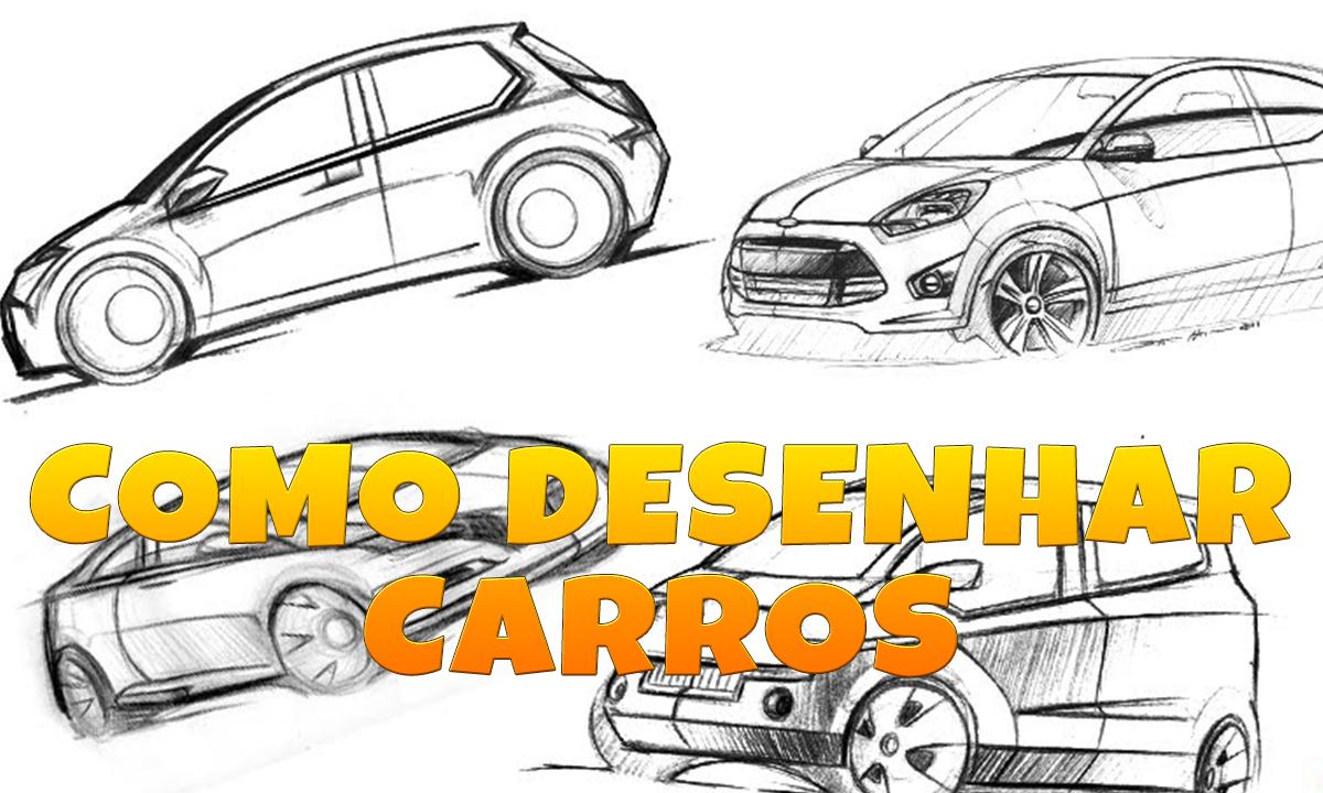 Vcdesenhos  Aprenda A Desenhar  Carros