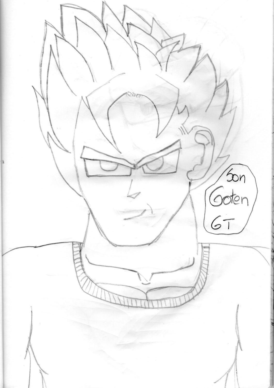 Ver Desenhos Do Dragon Ball Z Az Dibujos Para Colorear Sketch