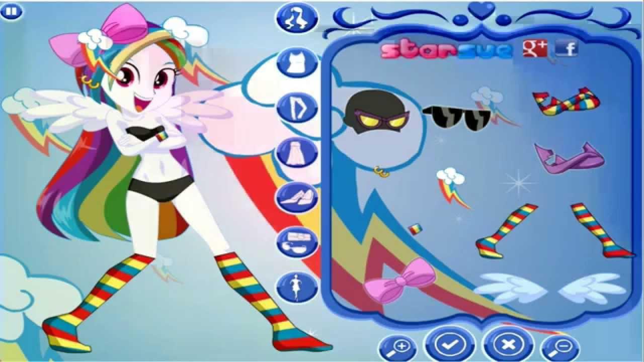 Vestir Rainbow Dash Equestria Girls My Little Pony