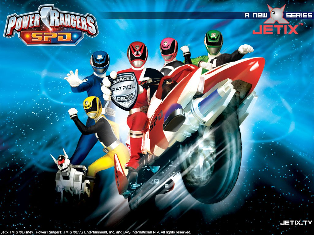 Wallpapers Power Rangers S P D Jogos Dos 1024x768
