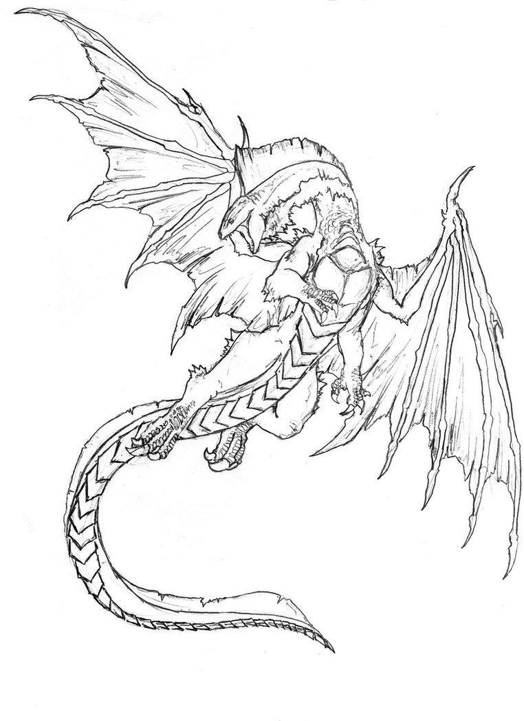 White Dragon By Danillo