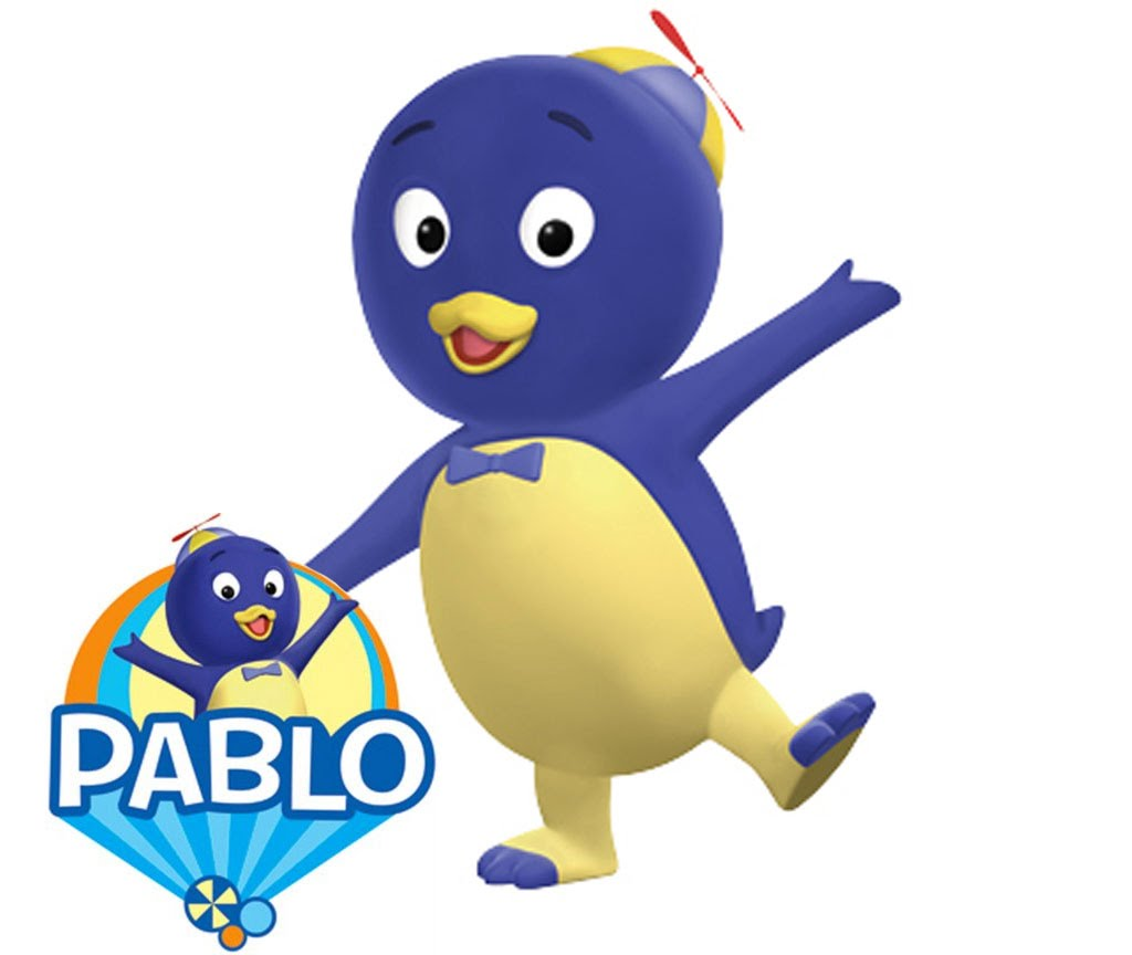 Backyardigans Pablo Hd Discovery Kids Several Portuguese Drawings