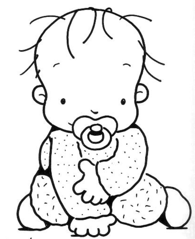 Desenhos Para Colorir Bebe