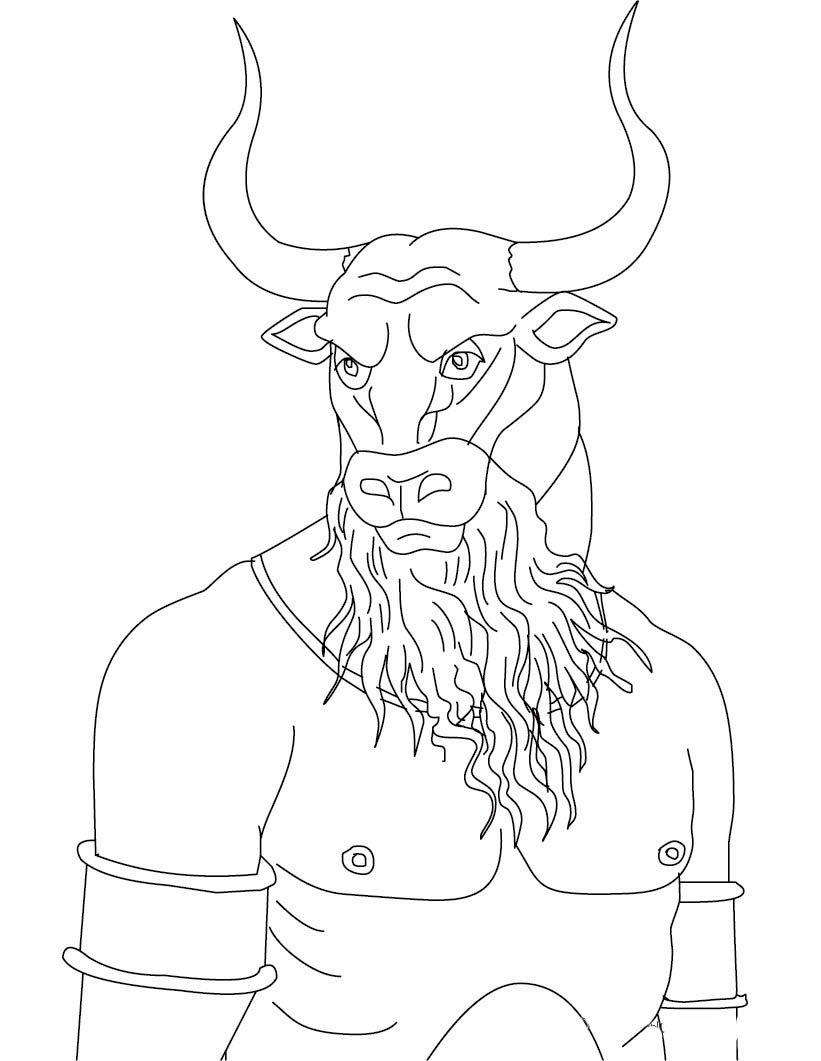 Desenhos De Mitologia Grega Para Colorir