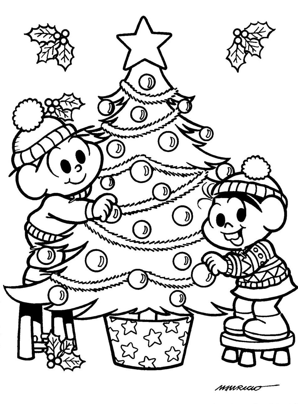 Desenhos De Arvores De Natal Para Colorir Pop Lembrancinhas