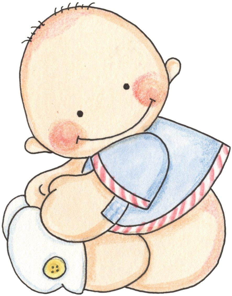 Dibujo Cigüeña Bebe