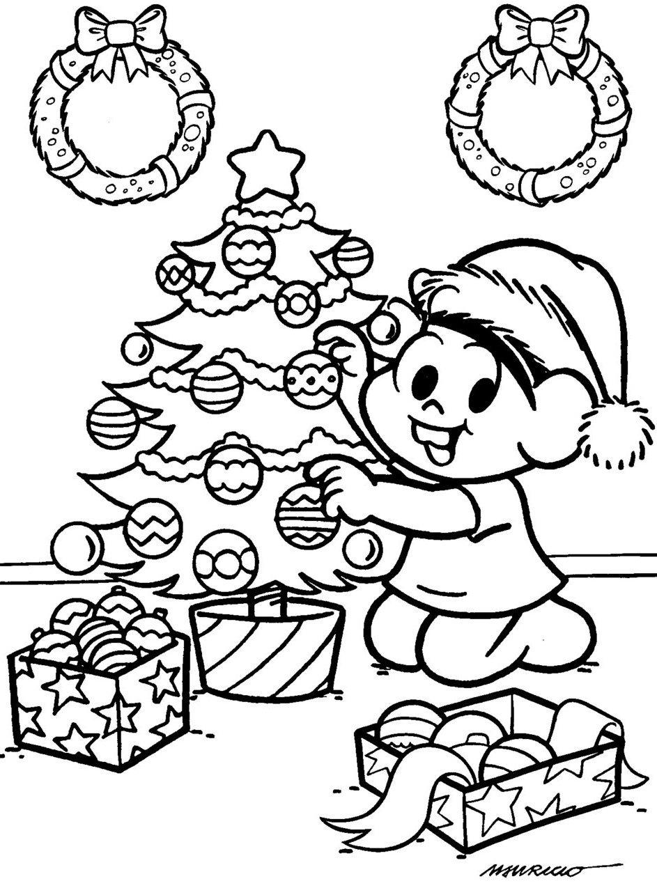 Download Image Desenhos Natal Para Colorir Imprimir Rvore Pc