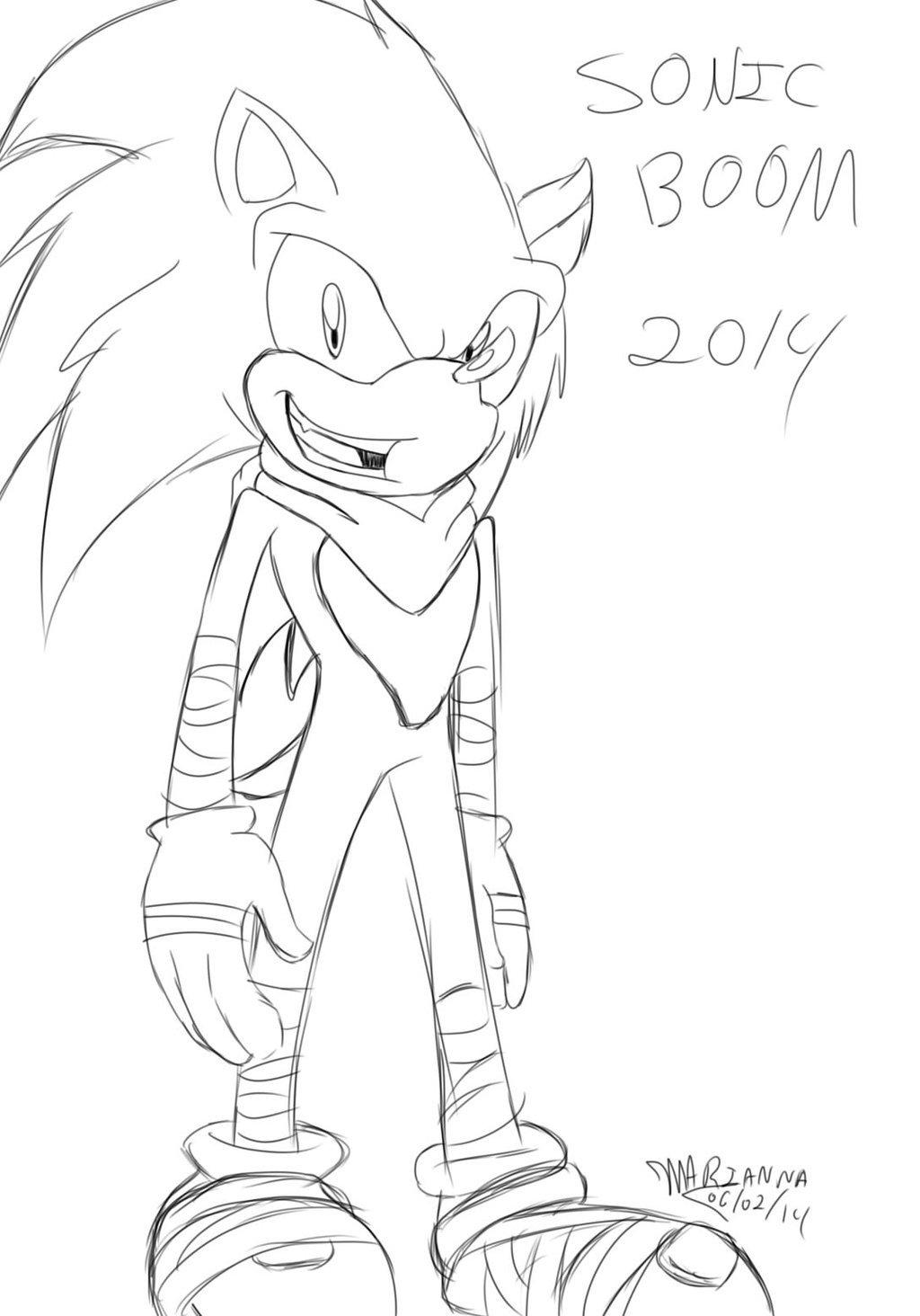 Sonic Boom By Lunewolf